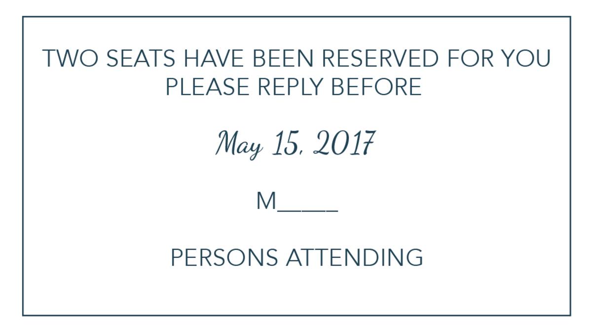 Wedding invitation tips wording samples wedding tips trends limited seating stopboris Gallery