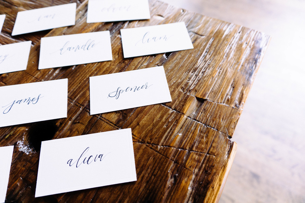 Wedding Inspiration: Place Cards & Seating Charts